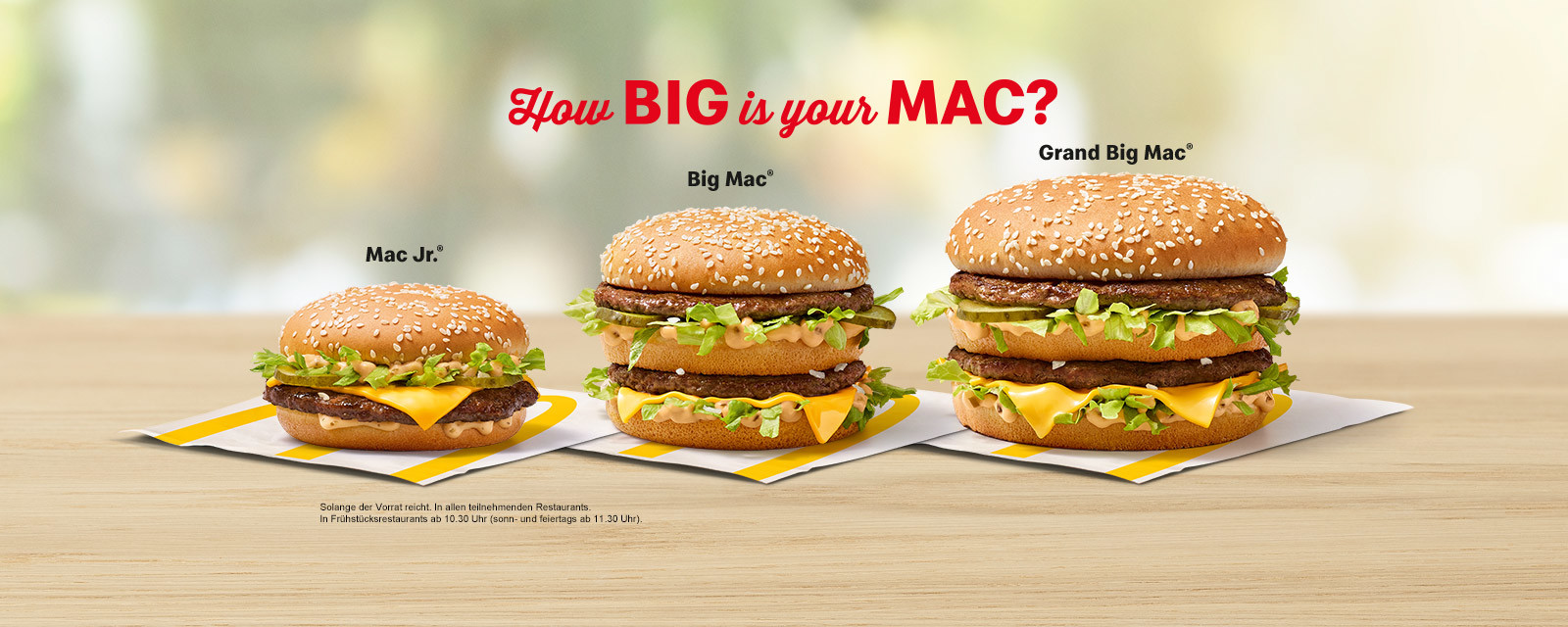 How BIG is your MAC?